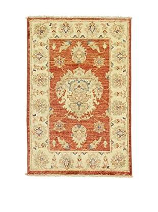 L'Eden del Tappeto Teppich Zeigler ziegelrot/beige 90t x t60 cm