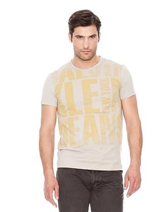 Calvin Klein Jeans Camiseta Jeans M / C (Gris Claro)