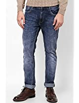 Blue Slim Fit Denim Incult