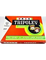 Vintage 1965 Tripoley Deluxe Edition Red Box 111 For Hearts And Michigan Rummy By Cadaco