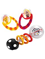 Sassy Flip & Grip Rattle & Spin And Shine Rattle