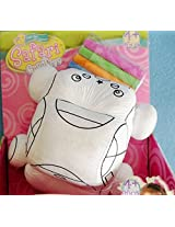 House of Quirk Color Me Pals DIY Washable and Reusable Coloring Child Developmental Toy