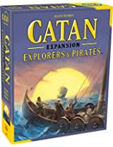 Mayfair Games Catan Explorers and Pirates Expansion 5th Edition, Multi Color