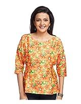 ENAH dolman sleeve floral top