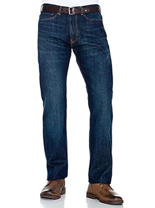 Dockers Pantalón 5 Bolsillos Recto (Azul Oscuro)