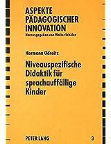 Niveauspezifische Didaktik Fuer Sprachauffaellige Kinder (Aspekte Paedagogischer Innovation)