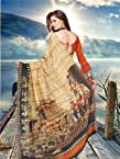 [1012] PURE SILK DIGITAL PRINT SAREE