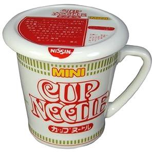 日清カップヌードル 醤油 蓋付きマグカップ