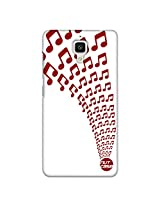 Designer xiaomi Mi4 Case Cover Nutcase - Musical Notes
