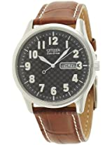 Citizen Eco-Drive Analog Black Dial Men's Watch - BM8300-03E