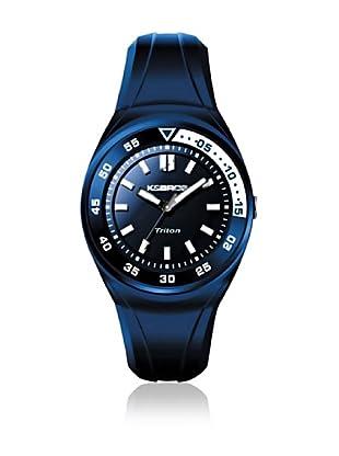 K&BROS Reloj 9475 (Azul / Blanco)
