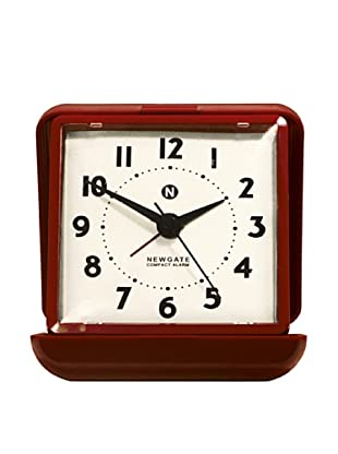 Newgate Nixon Alarm Clock, Red