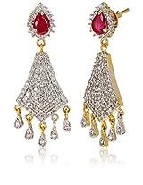 Ava American Diamond Dangler Earrings for Women (Gold) (E-B-CPE1168)