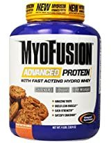 Gaspari Myofusion Advanced Protein 4 lbs Peanut Butter Cookie