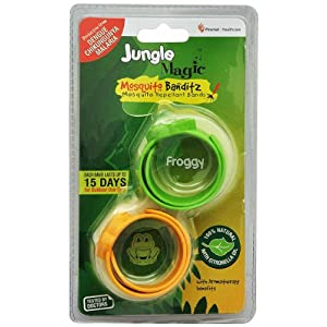 Jungle Magic Mosquito Banditz (Pack of 2), Froggy