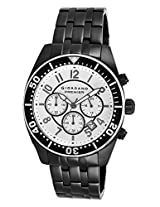 Giordano Chronograph White Dial Men's Watch - P166-44