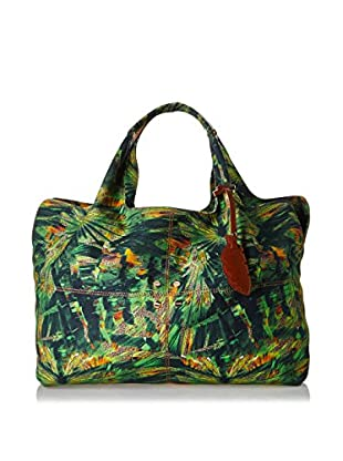 Borbonese Bolso asa de mano 92H Canvas Jungle