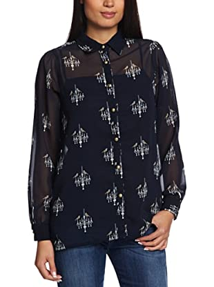 Sugarhill Boutique Camisa  Cristine (Azul Marino)