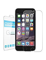 """iPhone 6 Screen Protector, Maxboost® iPhone 6 Glass Screen Protector (4.7"""")- [Tempered Glass] World's Thinnest Ballistics Glass, 99% Touch-screen Accurate, Round Edge [0.2mm] Ultra-clear Glass Screen Protector Perfect Fit for iPhone 6 6S (4.7 inch ONLY) Maximum Screen Protection from Bumps, Drops, Scrapes, and Marks (Lifetime No-Hassle Warranty)"""
