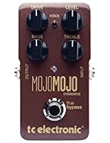 TC Electronic MojoMojo Overdrive Compression Effect Pedal, Maroon