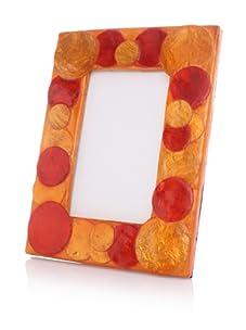 """Terragrafics Sorbet 4"""" x 6"""" Picture Frame (Orange)"""