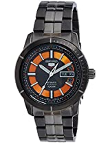 Seiko 5 Sports Analog Black Dial Men's Watch - SRP345K1