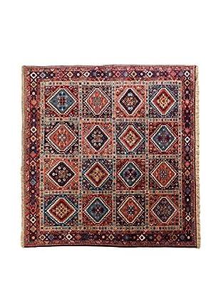 RugSense Alfombra Persian Yalameh Rojo/Azul/Multicolor 200 x 200 cm