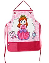 Digitally Printed Kids Apron For 1-5 Years Old,Cotton,18x12 Inch,300TC,KAPS-163
