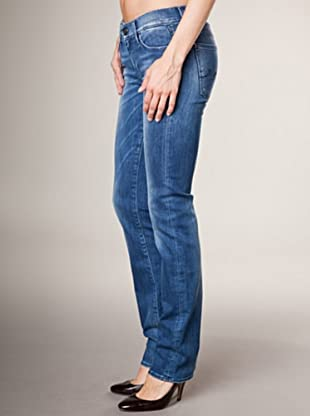 7 for all Mankind 5-Pocket Jeans Russel Square Straight Leg (Blau Denim)
