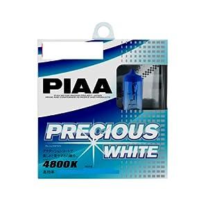 【クリックで詳細表示】PIAA ( ピア ) ハロゲンバルブ 【プレシャスホワイト 4800K】 H4 12V60/55W 2個入り H-780: 車&バイク