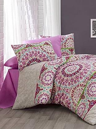 Colors Couture Bettdecke und Kissenbezug Romance