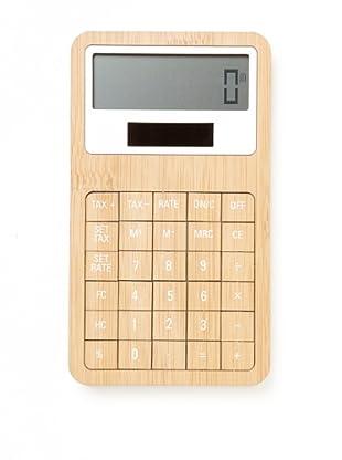 Lexon Safe Bamboo Calculator, Bamboo