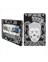 BlackBerry Playbook Vinyl Protection Decal Skin Black Skull Crown