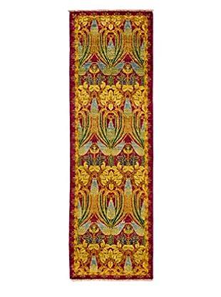 Darya Rugs Arts & Crafts Rug, Purple, 2' 5