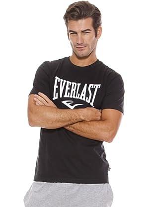 Everlast Camiseta Lam (Negro / Blanco)