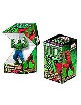2 (Two) Pack of Marvel HeroClix: Incredible Hulk Single Blind Figure