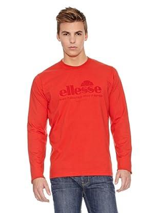 Ellesse Camiseta Flora (Rojo)