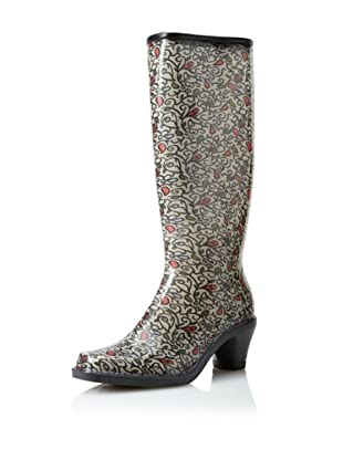 däv Women's Fashion Rain Boot (Bird on Vine)
