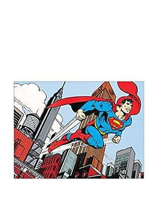 ArtopWeb Panel de Madera DC Comics Metropolis
