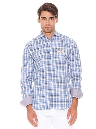 La Martina Camisa Cuadros (Azul)