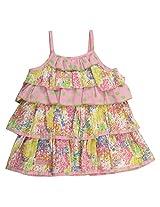 Little Kangaroos Baby-Girls Multi Color Dress (8903208861974_Multi-Coloured_12-18 Months)
