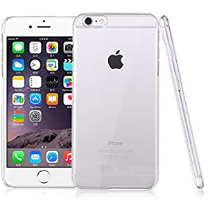 CUBIX Ultra Thin Crystal Clear Transparent Hard Case Back Cover for Apple iPhone 6 Plus