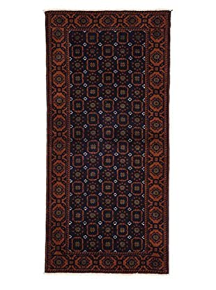 Darya Rugs Authentic Persian Tribal Rug, Red, 3' x 6' 4