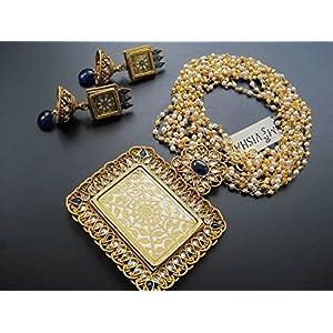 Dreamz Jewels Blue Tewa Necklace & Earrings