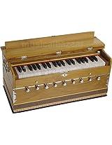 SANSKRITI MUSICALS Harmonium - A440 - Teak Wood - 9 Stopper - GF