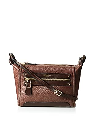 Olivia Harris Women's Hunger Small Novelty Cross-Body, Espresso, One Size