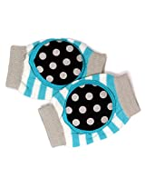 Baby Bucket Soft Cotton Knee Pad (Blue)