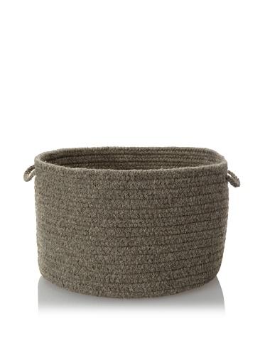 Colonial Mills Solid Storage Baskets (True Gray)