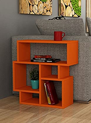 Decortie by Homemania Librería Karma (Naranja)