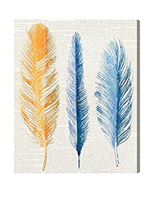 Oliver Gal 'Autumn Feathers' Canvas Art